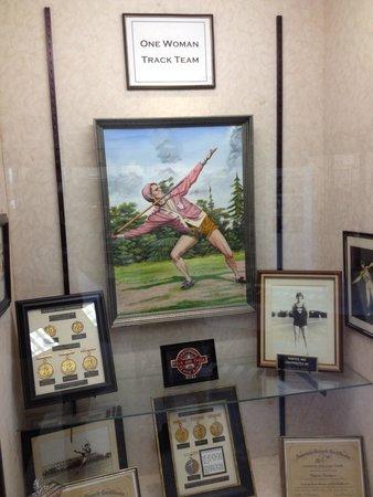 Babe Didrikson Zaharias Memorial Museum: Babe Didrickson Zaharius museum