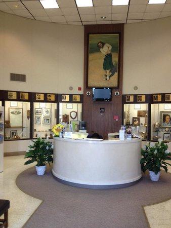 Babe Didrikson Zaharias Memorial Museum: Babe Didrikson Zaharias museum in Beaumont TX