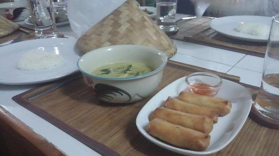 Thai Secret Cooking School : dinner served