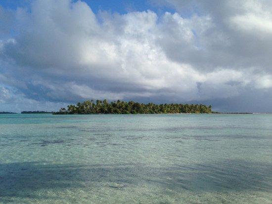 Vahine Island Resort : Vista del motu di fronte