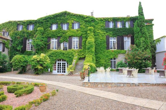 Hotellerie du Chateau de Floure: The exterior