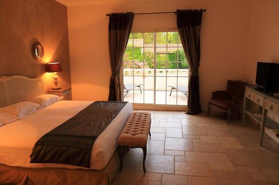 Hotellerie du Chateau de Floure: Beautiful room