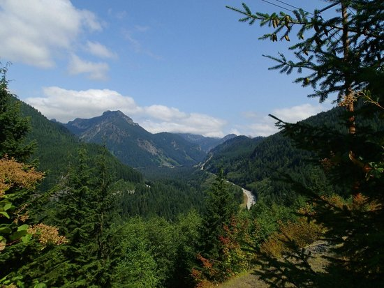 Easton, WA: View from the Iron Horse Trail