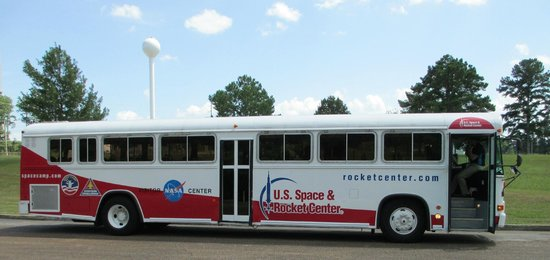 U.S. Space and Rocket Center: The USRRC Bus