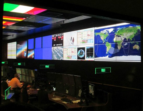 U.S. Space and Rocket Center : Keeping in touch with Houston & ISS