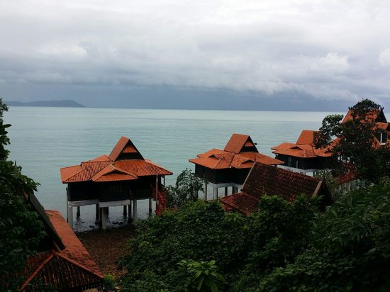 Berjaya Langkawi Resort - Malaysia: The view from our balcony