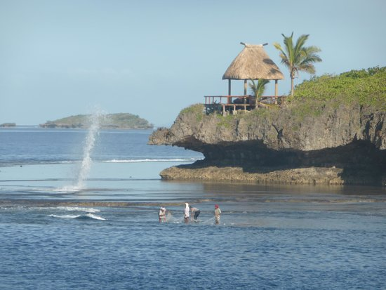 Savasi Island Resort: View from the dining deck!