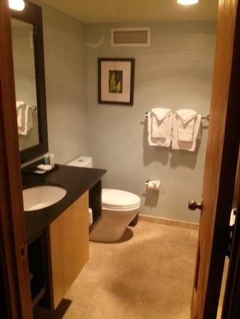 BEST WESTERN PLUS Hood River Inn: Our bathroom