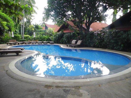 Smile House Resort: 1 of 2 pools (back pool)