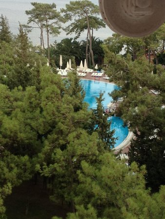 Grand Yazici Club Turban: Taken from our room on the 5th floor
