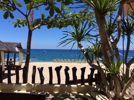 Taramindu Beach Garden Inn: View from restaurant