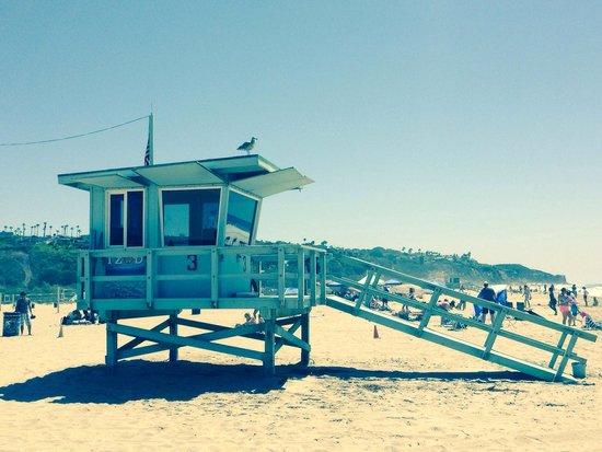 Zuma Beach: Bagnini