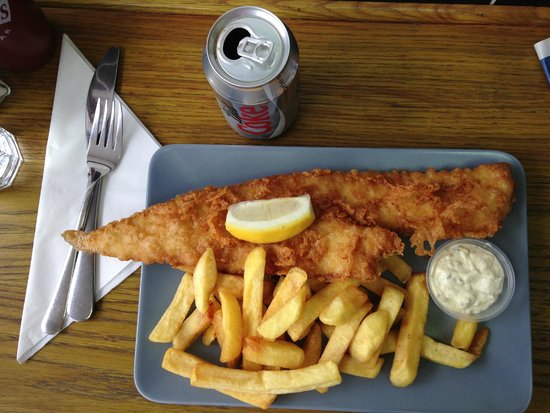 Baileys Fish and Chips: The fish and chips were the best I've had anywhere.