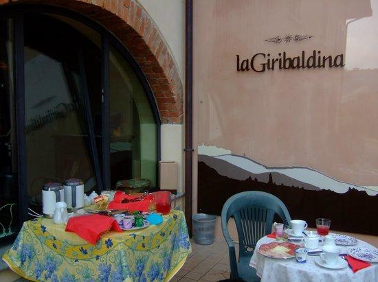 La Giribaldina: 朝食