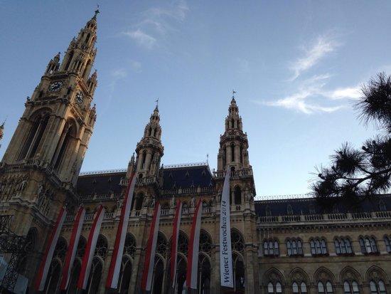 Rathaus: My europe trip