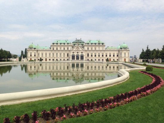 Belvedere Palace Museum : My europe trip