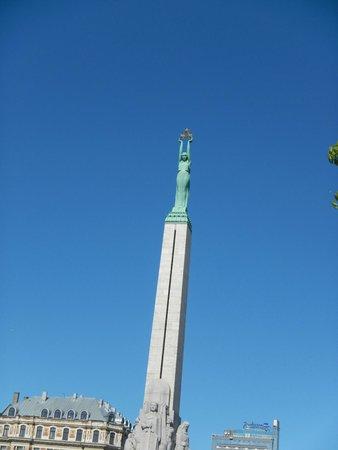 Freedom Monument (Brivibas Piemineklis) : Freedom Monument