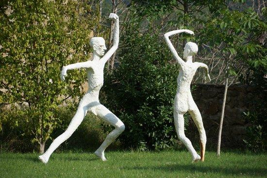 Casale Monticchio : le jardin aux sculptures