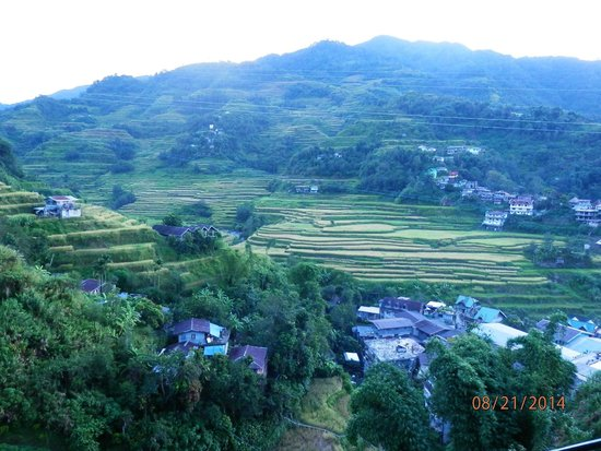 Banaue Homestay: view from the porch