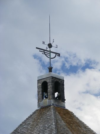 Timberline Lodge: Cool weather vane