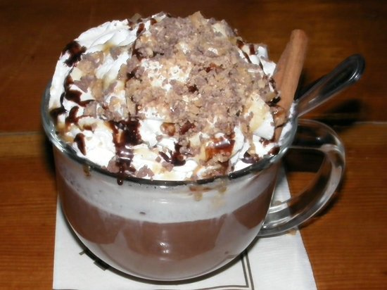 Timberline Lodge: Hot chocolate!