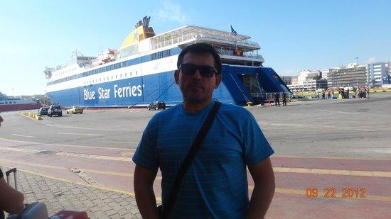 Piraeus Theoxenia Hotel: Порт-паром