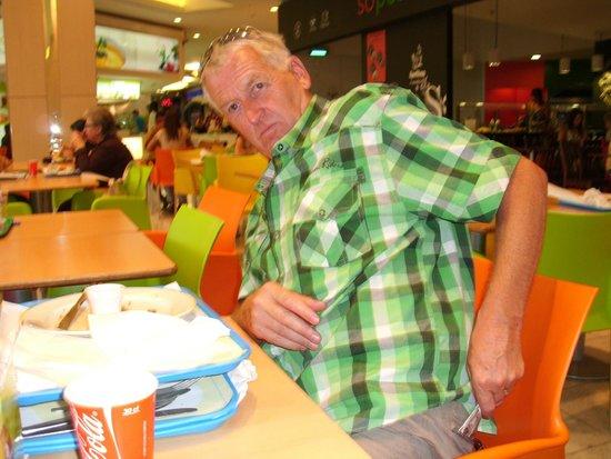 Vasco da Gama Shopping Center : Genieten in het restarant