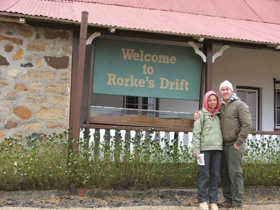 Rorke's Drift : A very cold day in July...