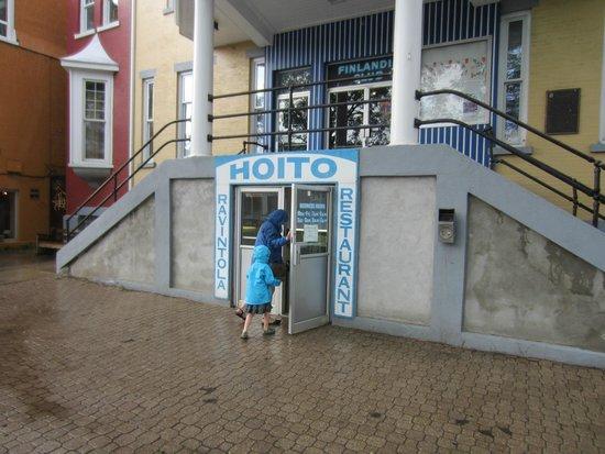 Hoito Restaurant : Entrance to The Hoito.