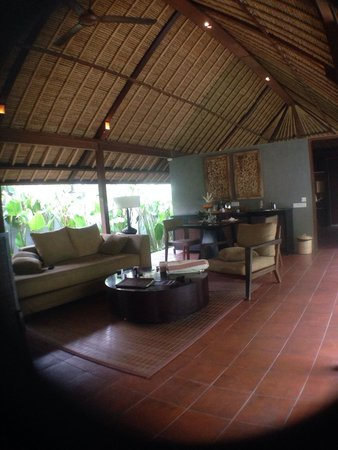 Mayaloka Villas Seminyak: Living room