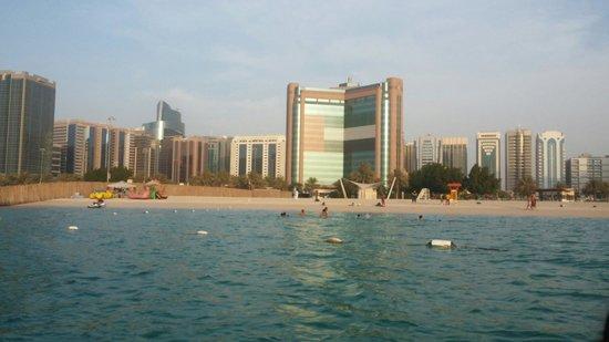 The Corniche: Abu dhabi corniche and beach
