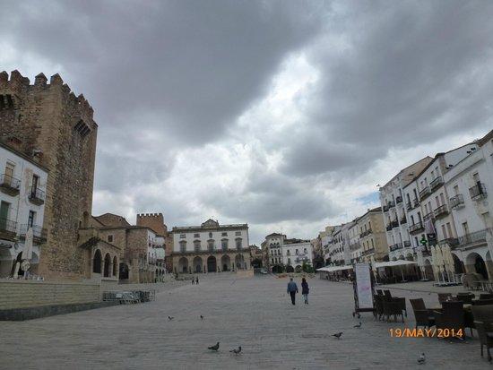Parador de Caceres: Main Square, Old Town, Caceres