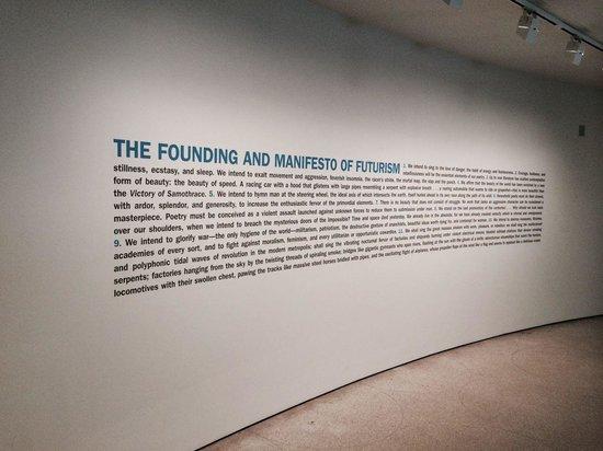 Solomon R. Guggenheim Museum: Le manifeste du futurisme