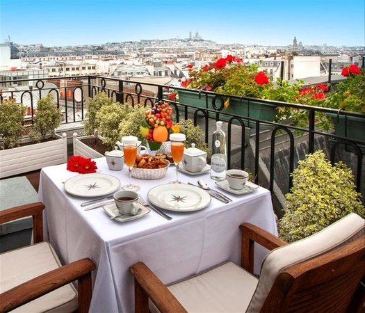 Hotel Astor Saint-Honore: Terrace Governor Suite