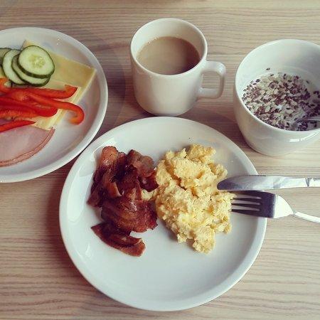 Scandic Uppsala North: frukost