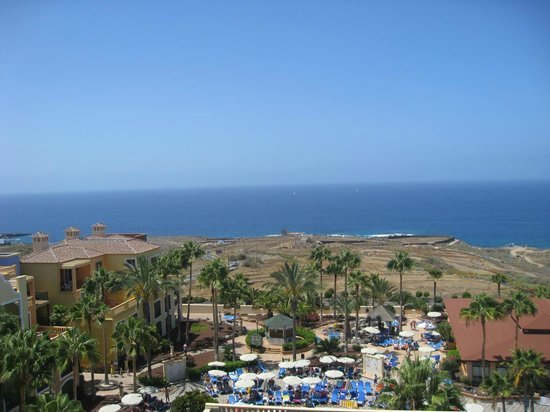 Bahia Principe Tenerife: View from our balcony