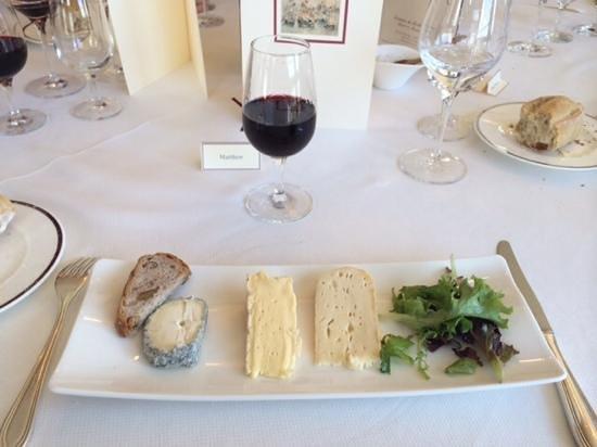 Domaine de Rochevilaine : l'assiette de fromages