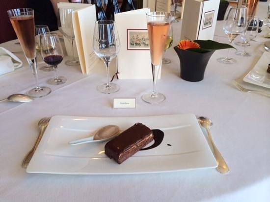 Domaine de Rochevilaine : un des deux desserts