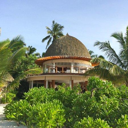 Kandolhu Maldives : View of The Olive restaurant