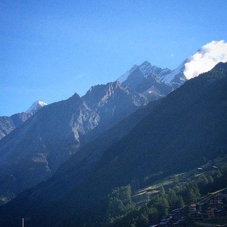 Haus Theodul: Morning view :)