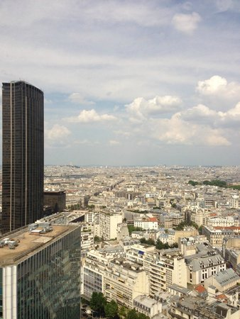 Pullman Paris Montparnasse: Nice view from the room... except for that darned Montparnasse Tower on the left. :-)