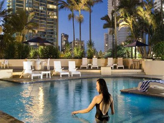 Qt king suite picture of qt gold coast surfers paradise for International pool and spa show 2016