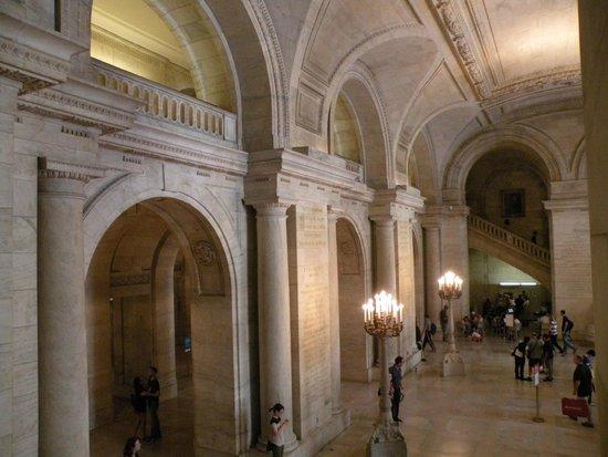 New York Public Library: Intérieur