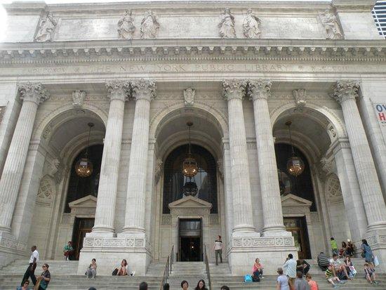 New York Public Library: Entrée