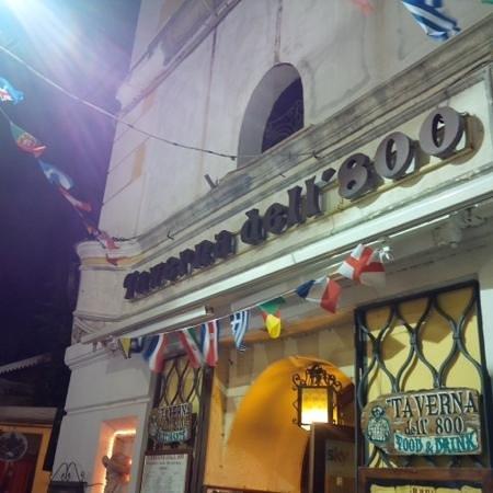 Taverna dell'800: facade