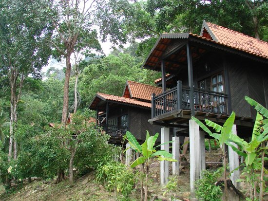 Berjaya Langkawi Resort - Malaysia: This is the chalet we stayed in