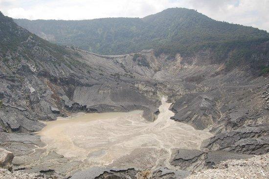Tangkuban Perahu : Der Krater