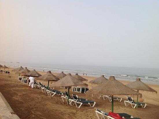ClubHotel Riu Tikida Dunas: Agadir beach