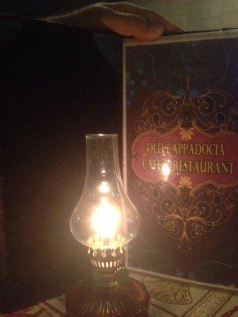 Old Cappadocia Cafe & Restaurant: Candlelit dinner