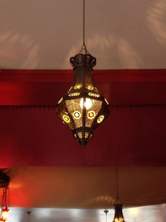 Hanam's Middle East Restaurant: Lampada